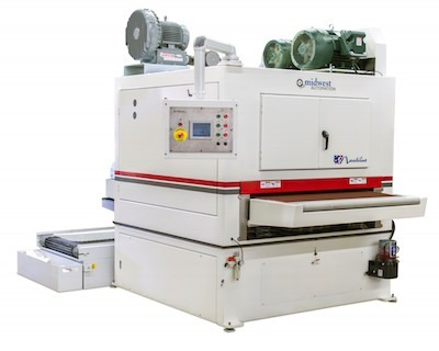 midwest automation deburring machine