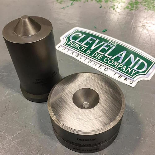 cleveland punch and die ironworker tools