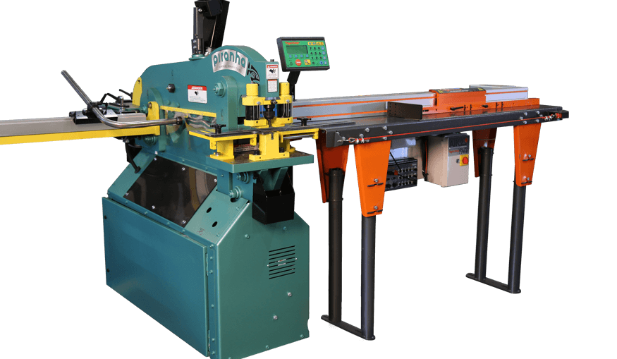 tigerstop material positioning machine