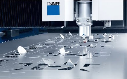 trumpf industrial laser cutting machine