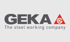 geka steel working company logo