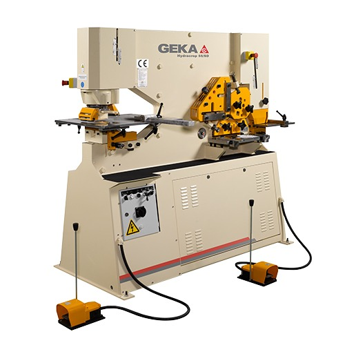 geka ironworkers machine